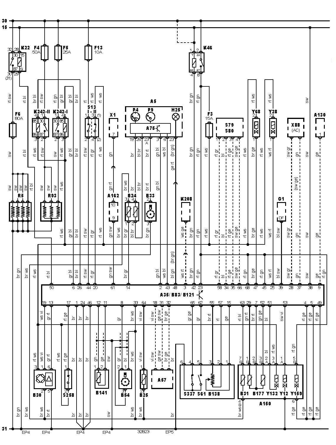Vw Golf 3 Tdi Wiring Diagram : Vw mk jetta instrument cluster wiring diagram get free