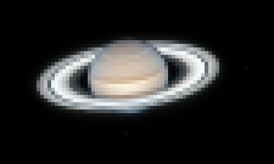Uzņemta pārsteidzoši detalizēta Saturna fotogrāfija